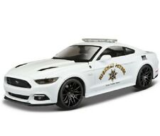 Maisto 1:24 2015 Ford Mustang GT 5.0 Diecast Model Racing Police Car Vehicle