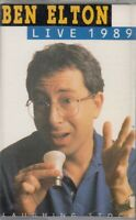 Ben Elton Live 1989 Cassette Audio Comedy Hammersmith Odeon Stand Up Humour