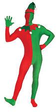 Adulto ELF Suit scomparendo Uomo Costume Taglia Unica Costume
