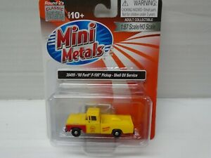 Ho Scale Classic Metal Works #30499 60' Ford F-100 Pickup Truck - Shell Oil Co.