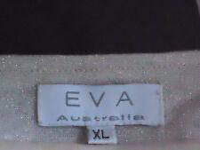 EVA StretchySparklyNudeFauxBoleroFlaredDressSizeXL EUC