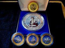 Complete 6 Pc. Queen Isabella Tournament Set / Four Queens - Las Vegas