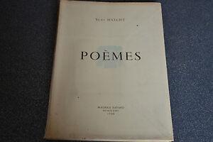 Poèmes Suzy Haight Maurice Bayard (M6)