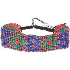 NEW Festival Boho Tribal Multicolor Seed Bead Hippie Macrame Friendship Bracelet