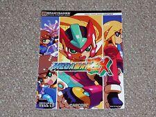 Mega Man ZX Nintendo DS Brady Games Strategy Guide