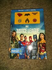 Justice League Blu-ray + DVD + Collectible Set of 6 pins