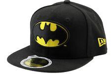 New Era Batman 59 FIFTY Full Cap Kids 6 1/2 52 cm Schwarz