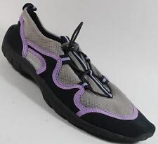 NEW Women's NORTHSIDE GRAY/PURPLE  Athletic Water Aqua Sandals Shoes SZ 7