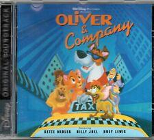 Oliver & Company - Walt Disney Soundtrack CD Album