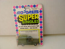 MAJORETTE SUPER SINGLES 1:80 SCALE MILITARY CANVAS COVER TRUCK NEW ON CARD