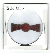 Gold Club Chewing Tobacco Tag Die Cut G265