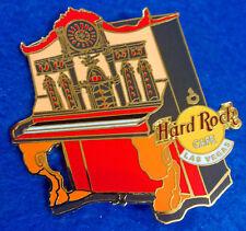 LAS VEGAS UPRIGHT GOTHIC ORANGE RED PIANO KEYBOARD SERIES Hard Rock Cafe PIN LE