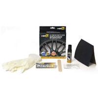 raid hp Alu Felgen Reparatur Set Felgendoktor Kit schwarz glänzend 340002