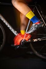"The Venezuela Warrior 6"" Men's & Women's cycling socks with compression."