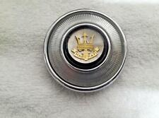 Early Maserati 3500GT gold Trident horn button assembly- very rare, restored !!