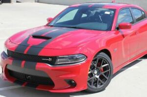 N CHARGE RALLY Fits: 2015-2020 Dodge Charger SRT GT Stripes