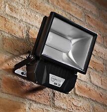 Auraglow 50w LED Flood Light Outdoor Garden Wall Security Lamp, 250w EQV,  Black
