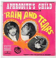 "APHRODITE'S CHILD     Rain and tears           7""  45 tours SP"