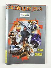 Catalogue Guide Jeux Ubisoft PC Consoles PS1 Année 2000
