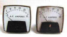 Yokogawa Ac Amperes Panel Meter 0 30 Amps Ac Lot Of 2 250 Yca 250340lsnl