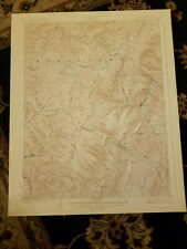 22x29 1924 USGS Topo Map Spruce Knob, West Virginia Big Run School Thornwood