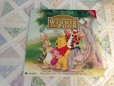 The Many Adventures of Winnie the Pooh Stereo Laserdisc - Walt Disney