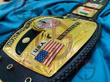 NWA DOM GLOBE HEAVYWEIGHT WRESTLING CHAMPION CHAMPIONSHIP BELT 4MM ZINC