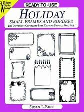 Ready-to-Use Holiday Small Frames and Borders: 229 Different Copyright-Free Desi