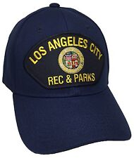 City Of Los Angeles Rec & Parks Hat Color Navy Blue Adjustable