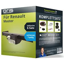 Anhängerkupplung ORIS starr für RENAULT Master +E-Satz Set kpl. NEU inkl. EBA