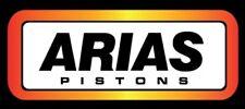 Arias A3730400 Pistons Toyota 4AGE 20-Valve 81.5mm 11.3 Silver Top Black Top e85