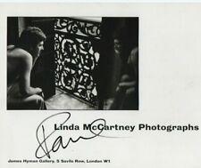 PAUL MCCARTNEY HAND SIGNED AUTOGRAPH ART BOOKLET BEATLES SINGER RARE