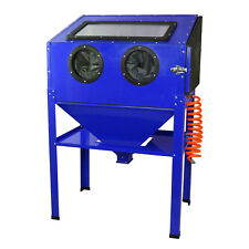 Sand Blasting Cabinet Portable Work Station Abrasive Bead Grit Sand blaster 220L