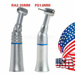 NSK Style Dental Push Button Contra angle fit 1.60mm 2.35mm Burs Handpiece YF#B