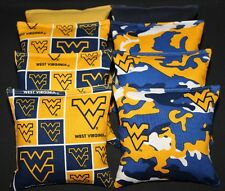 University of West Virginia Mountaineers 8 Cornhole Bean Bags Aca Regulation