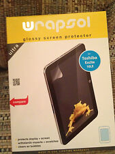 Wrapsol Glossy Screen Protector Toshiba Excite 10LE Tablet NEW SEALED