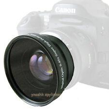 58mm 0.45x wide Lens for Canon XT XTi XS XSi T1i T2i