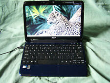 "Acer Aspire One 751h  ZA3 2GB 320GB 11.6"" UltraSlim Webcam Wifi Blue Netbook"