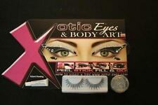 Xotic Eyes Villian Rhinestone Eyelash Makeup Art Kit Costume Accessory X5678