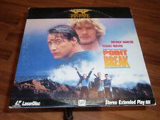 Point Break Laserdisc Widescreen LD