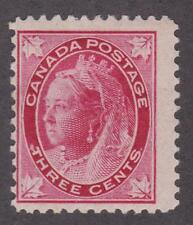 """Canada 1898 #69 Queen Victoria """"Maple Leaf"""" issue  MH F"""