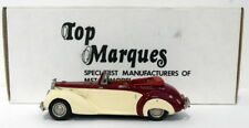 Top Marques 1/43 Scale HE4 - 1954 Alvis TC 21/100 Grey Lady Open - Maroon/Cream