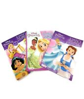 Disney Princess Jumbo Coloring and Activity Books 3 Pack Bundle Gift Set