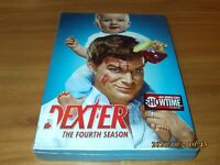Dexter: The Fourth Season (DVD, 2010, 4-Disc Set) 4 4th Four NEW