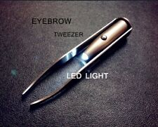 Eyelash / Eyebrow Hair Removal Tweezer, Creative Makeup Tool With LED Light