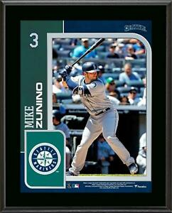 """Mike Zunino Seattle Mariners 10.5"""" x 13"""" Sublimated Player Plaque - Fanatics"""