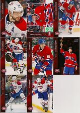 15/16 UD SERIES 1 & 2 MONTREAL CANADIENS TEAM SET OF 16 PLAYERS