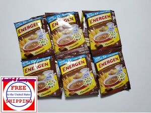 ENERGEN Chocolate Nutritious OAT-CEREAL mix with MILK 40 grams x 10 sachets