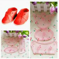 Birthday Cake Decorating Baby Shoes Mould Cutter Tool Fondant Icing Sugar CrafEB