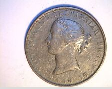 1856 Nova Scotia, Canada Half Penny Token, Cir High Grade Copper (Can-512)